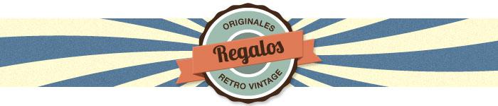 Regalos Originales retro vintage curiosos